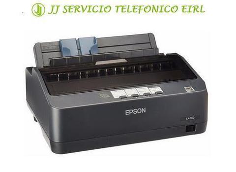 EPSON PERÚ / IMPRESORA MATRICIAL LX 350 / EQUIPO NUEVO
