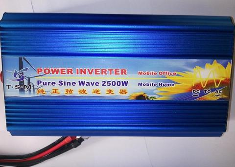 Inversor 12v A 220v 2500w Onda Senusoidal Pura refri taladros bombas