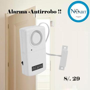 AlarmaAntirrobo sólo S/. 29