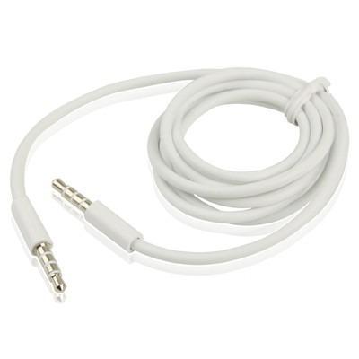 Cable Auxiliar Audio 3.5 Mm Alta Calidad Mp3 Mp4 Iphone Ipod
