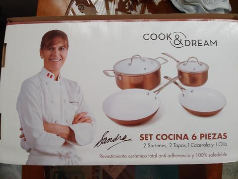 Set Cocina Cook Dream Sandra Plevisani