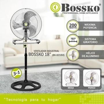 Ventilador Bossko 3 En 1 Modelo 2019