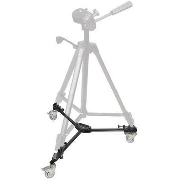 dolly ruedas para tripode compatible con cualquier modelo de tripode y tamaño