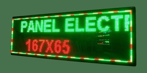 Panel Electrónico de 167x65cm
