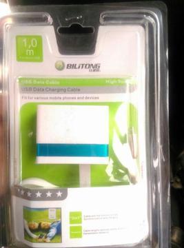 CARGADOR BILITONG PARA CELULAR 4.2A. Carga rápida.4 entradas USB.Cable de puntas metálicas y resistentes