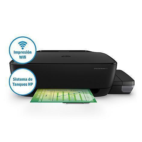 Impresora Multifuncional HP 415 Wireless C/sistema Continuo