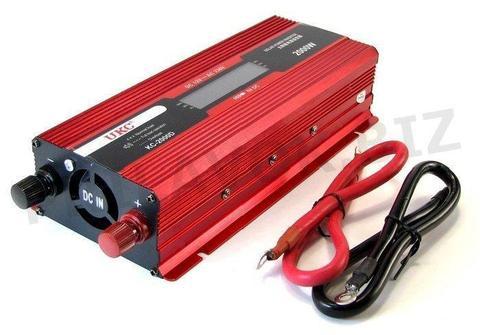 Inversor De Corriente Bateria 12v A 220v 1000watts