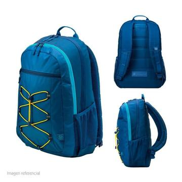 Mochila HP Active Notebooks hasta 15.6' IMPERMEABLE AZUL