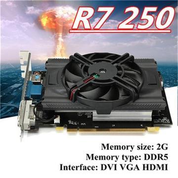 Tarjeta De Video R7 250 2gb Gddr5 Original Fornite 100fps