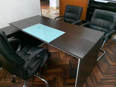 ESCRITORIOS MOD. AMERICANO DE OFICINA TODO COMPLETO!