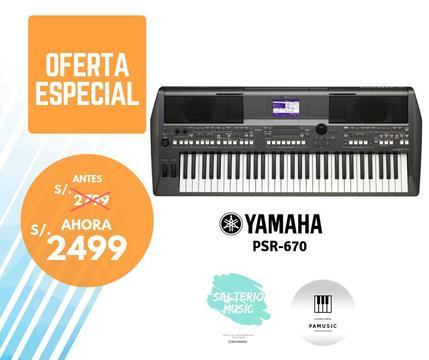 Teclado Yamaha Psr 670!! SUPER OFERTA!!