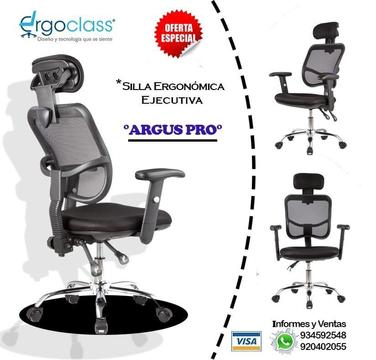 SILLA ERGONÓMICA PARA OFICINA PRECIO DE IMPACTO