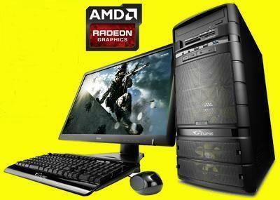 Computadoras Gamer A8 / A10 Nuevas Completas Listas