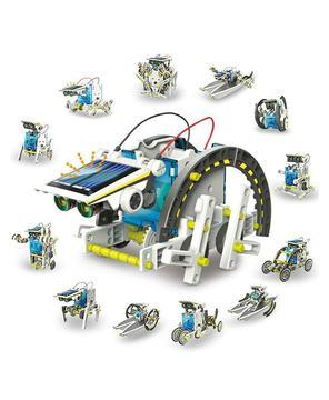 Robot Solar Educacional – KIT de 13 ROBOTS en 1