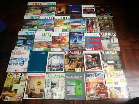 30 Revistas Variadas de Arquitectura