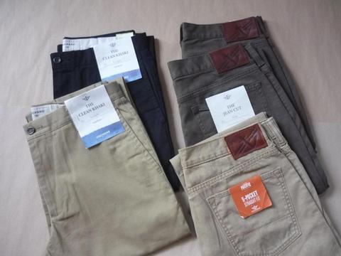 Pantalones Levis, dockers tallas 30, 32, 33, 34, 38 nuevos originales