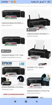 Epson L1110 Sistema Continuo Original