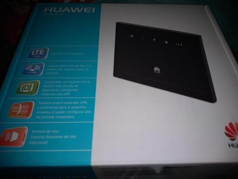 Modem Router Cpe Huawei B315 Bitel 4g Liberado Sellado Usb