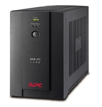 UPS APC BX1400UMS 1400VA 700W interactivo 220V AVR 2 tomas C13 4 tomas universales