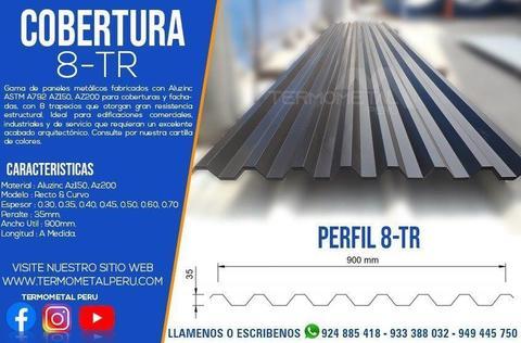 COBERTURAS 8-TR PREPINTADA