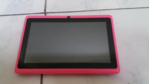 Tablet genérica rosada, para repuesto