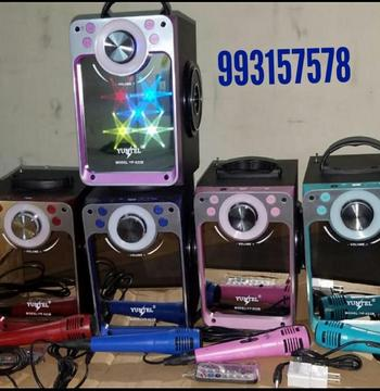 Parlante Portátil Radio Usb Bluetooth