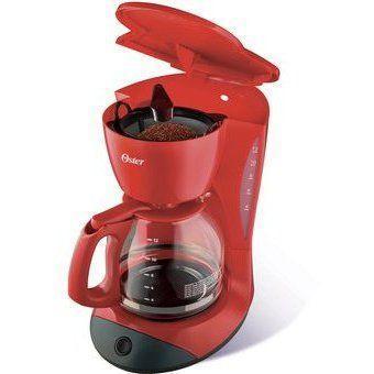 Cafetera Oster 12 Tazas BVSTDCDW12R - Rojo Electrodomesticos jared