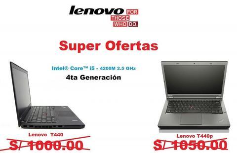 Laptop Baratas Lenovo Corei5 4ta Generacion