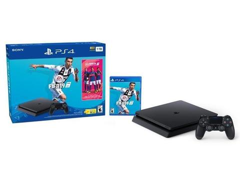 PLAY STATION 4 SONY,SLIM 1TB FIFA19 NUEVO