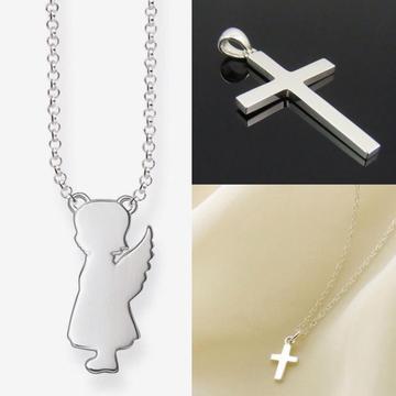 Collar de plata regalo de bautizo regalo baby shower corporativo empresa colegio nido primera comunion misa todo santos