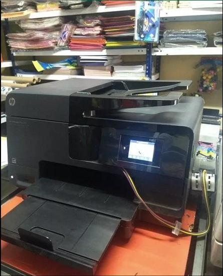 Impresora HP8610 solo negro A4 con sistema continuo