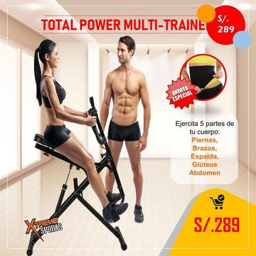 Total Multitrainer Power Crunch 977691866 abdominales faja
